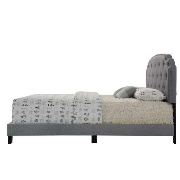 Wilkie Queen Upholstered Standard Bed by Red Barrel Studio