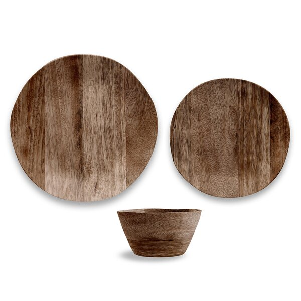 Marcos 12 Piece Melamine Dinnerware Set, Service for 4 by Union Rustic