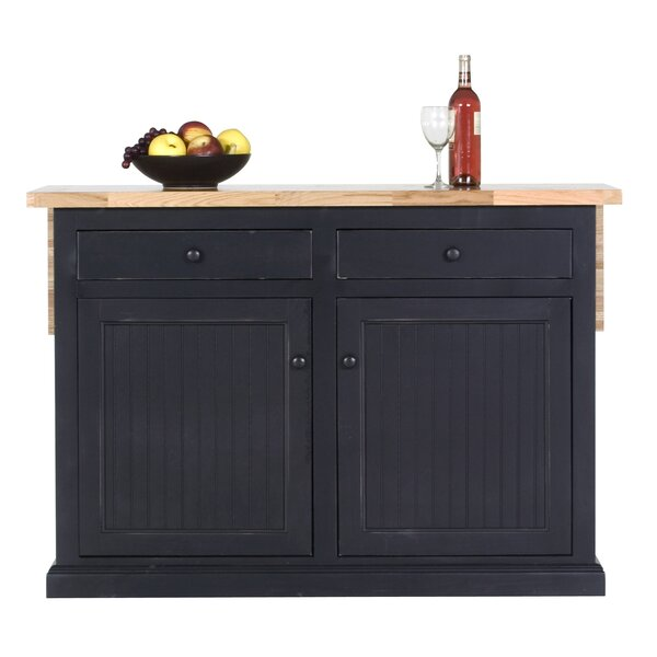 Meredith Kitchen Island by Breakwater Bay