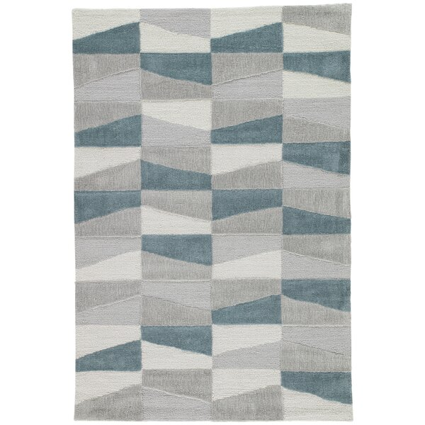 Stephanie Hand-Tufted Gray Area Rug by Langley Street