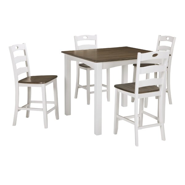 Mccormick 5 Piece Counter Height Dining Set by August Grove