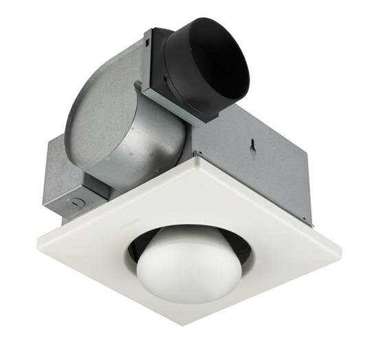 Ventilation 70 CFM Bathroom Fan with Heater by NuTone