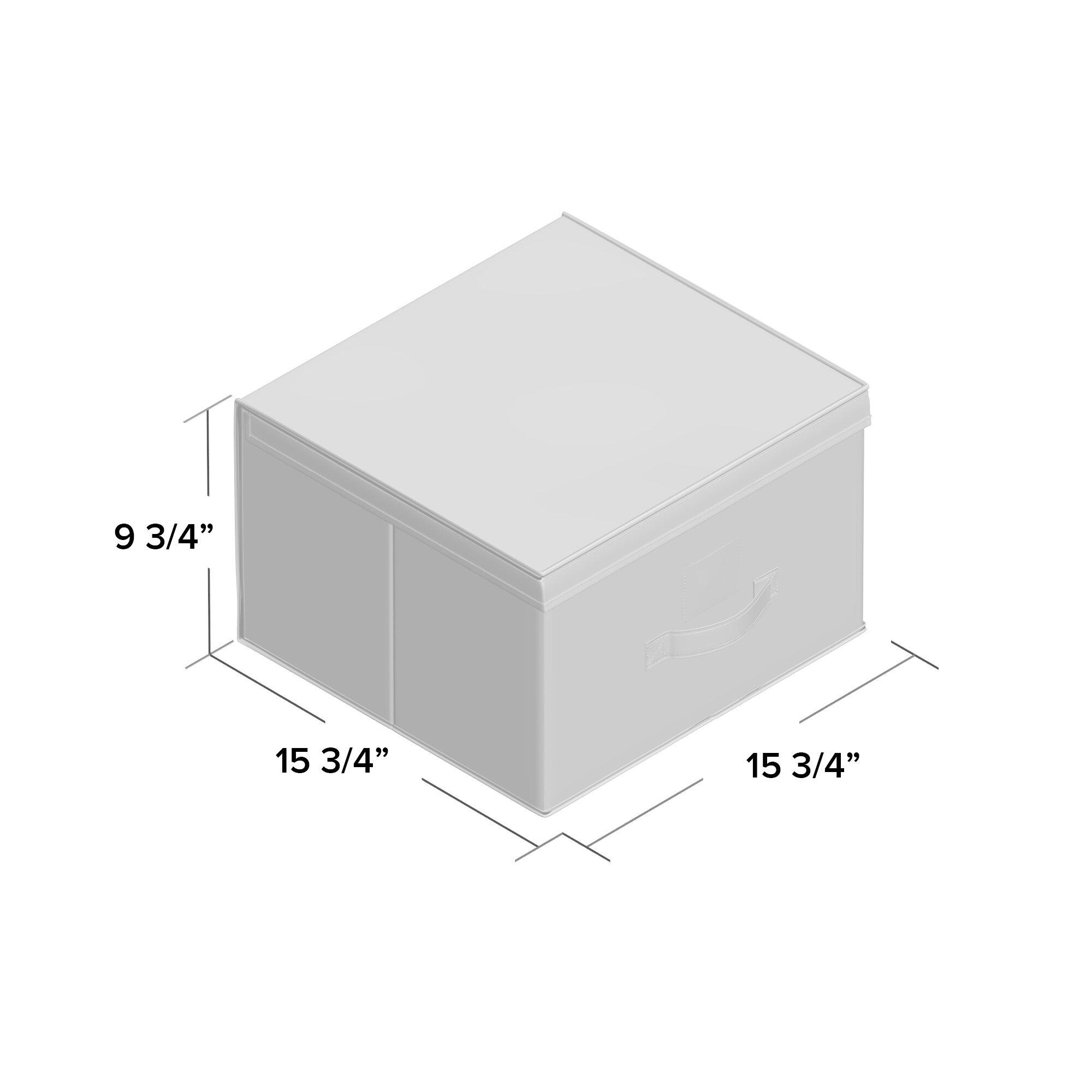 sc 1 st  Wayfair & Rebrilliant Jute Storage Box   Wayfair