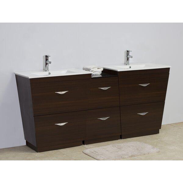 76 Double Bathroom Vanity Set