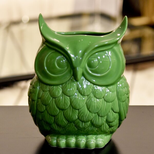 Ceramic Home & Garden Owl by Urban Trends