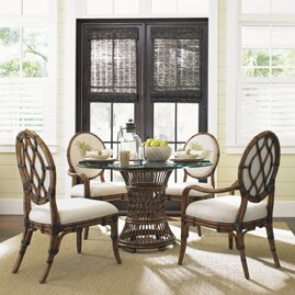 #2 Bali Hai 5 Piece Dining Set By Tommy Bahama Home Read Reviews