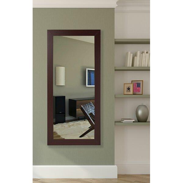 Darby Home Co Dark Mahogany Floor Mirror | Wayfair