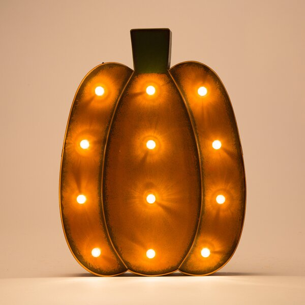 Marquee LED Pumpkin by GlitzhomeMarquee LED Pumpkin by Glitzhome