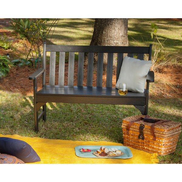 Vineyard Plastic Garden Bench By POLYWOOD®