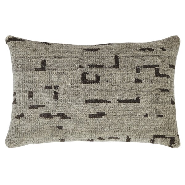 Lamphere Wool Lumbar Pillow by Latitude Run