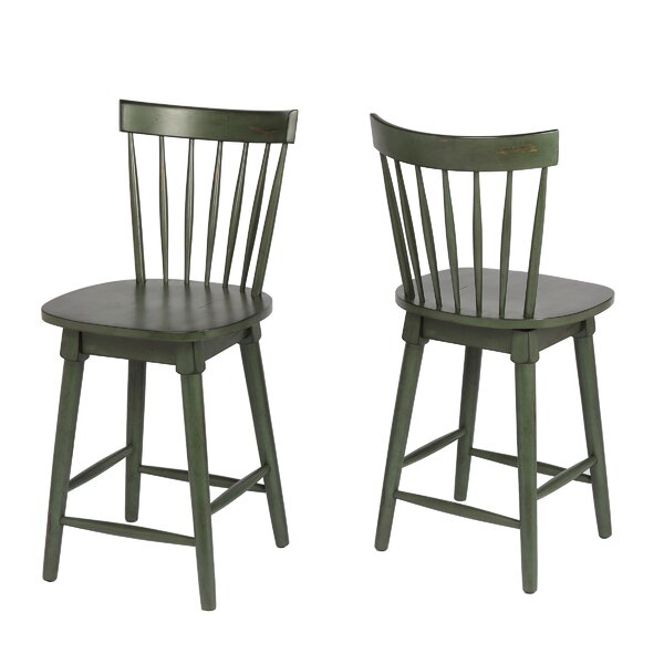 Manzi 25 Swivel Bar Stool by Gracie Oaks