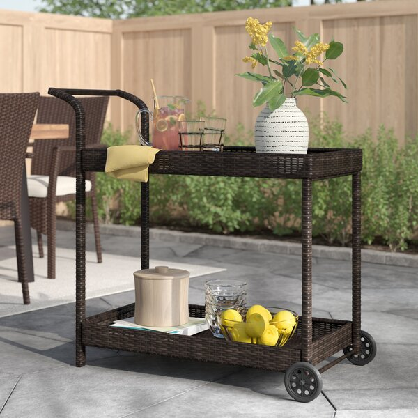 Menifee Bar Serving Cart by Zipcode Design Zipcode Design