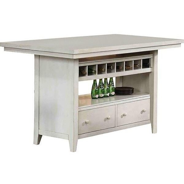 Carrolltown Kitchen Island by August Grove