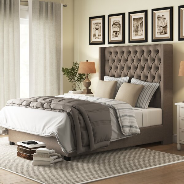 Gunnel Upholstered Bed by Birch Lane™ Heritage