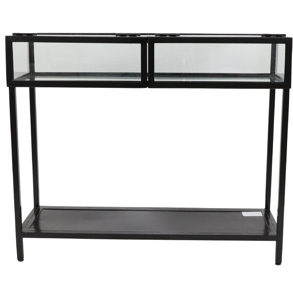 17 Stories Glass Console Tables