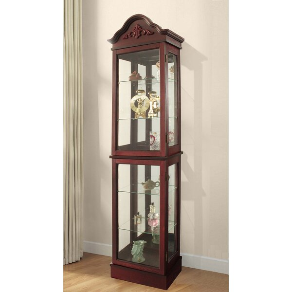 Ballycastle Lighted Curio Cabinet By Astoria Grand 2019 Online
