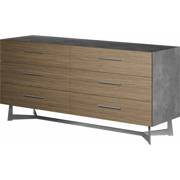 Raylee 6 Drawer Double Dresser by Brayden Studio