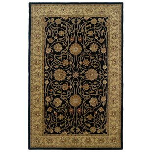 Best Reviews Meadow Breeze Black Border Rug By Continental Rug Company
