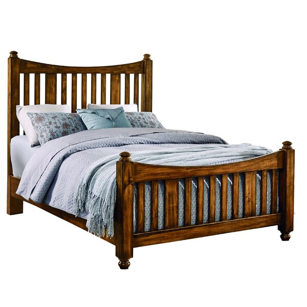 Erving Panel Bed with Mattress by Darby Home Co