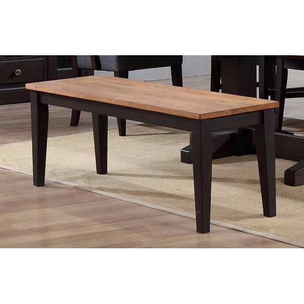 Hayden Dining 2 Tone Bench by Ophelia & Co. Ophelia & Co.
