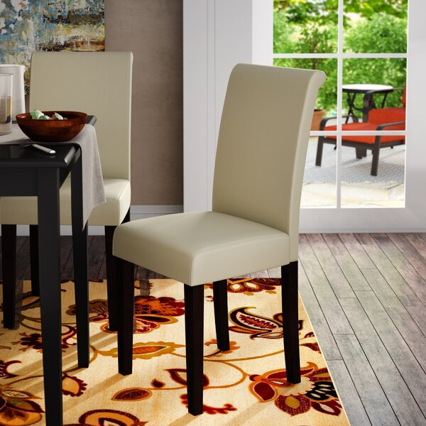 Keesee Parsons Chair (Set of 2) by Ebern Designs