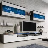 Cerie Floating Entertainment Center for TVs up to 88""