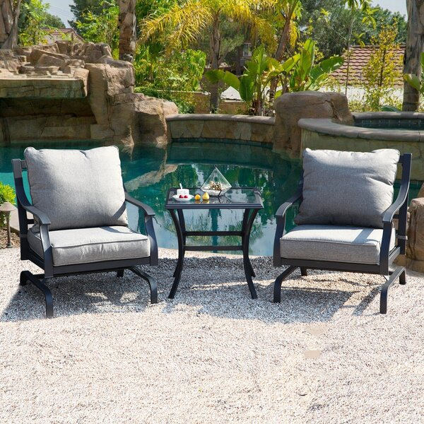 Palm City 3 Piece Seating Group with Cushions by Red Barrel Studio