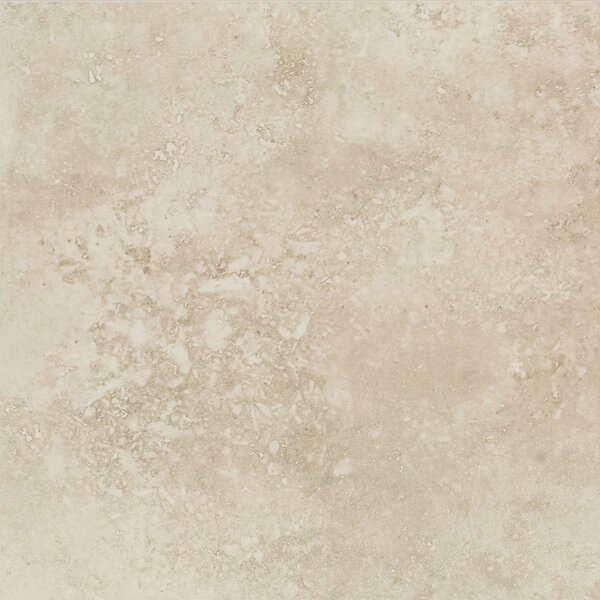 MAVANA 13 x 13 Porcelain Tile in Ivory Cream by Mohawk Flooring