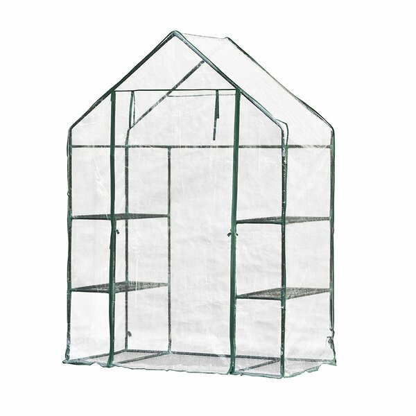 4.58 Ft. W x 2.41 Ft. D Mini Greenhouse by ALEKO