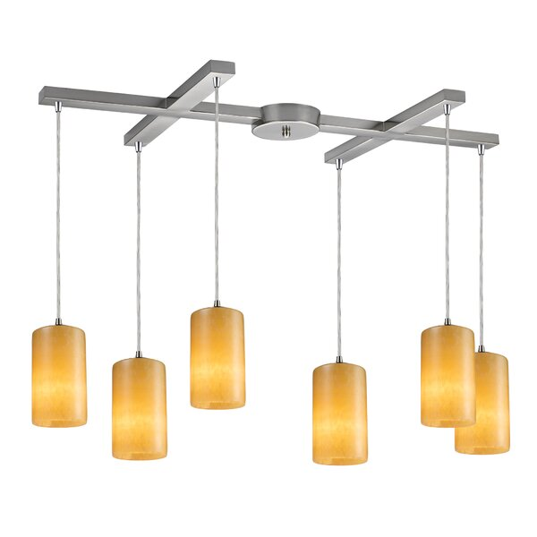 Greenpoint 6-Light Pendant by Bay Isle Home