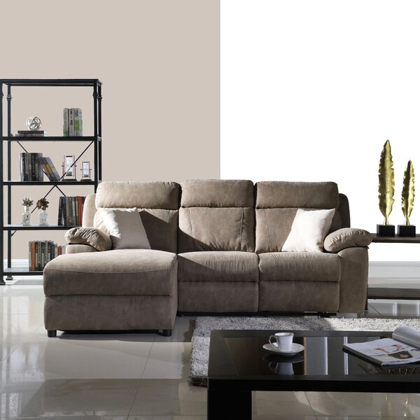 Ladner Classic Space Sectional by Winston Porter