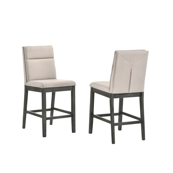 Kehlenbeck Counter Height Upholstered Dining Chair (Set of 2) by Red Barrel Studio