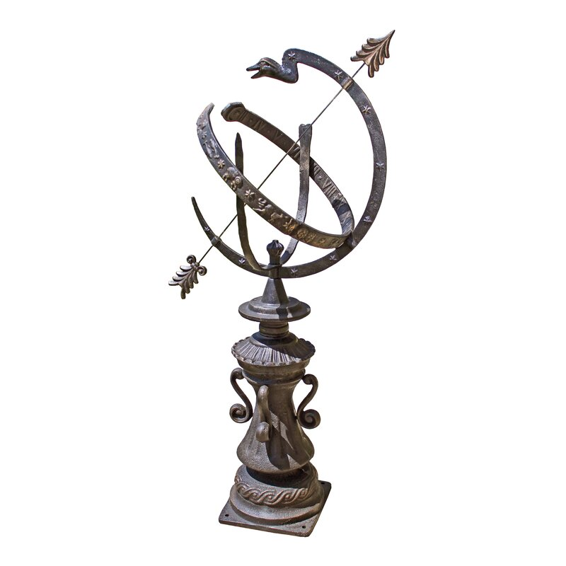 Hyde Park Authentic Armillary Sphere Garden Statue