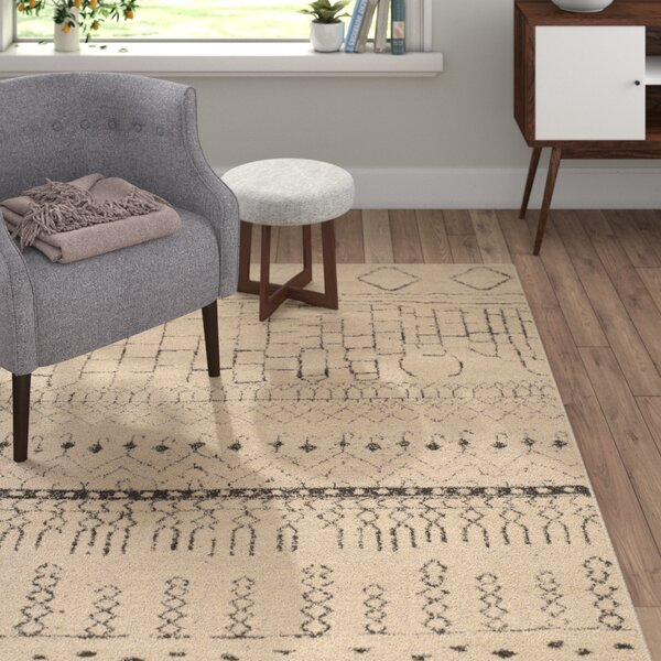Ximena Beige Area Rug by Langley Street