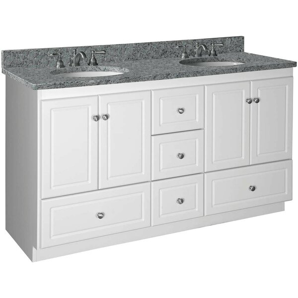 Lysette 60 Double Bowl Bathroom Vanity Base Only