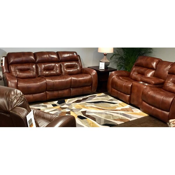 Modern Style Showcase Reclining Loveseat by Southern Motion by Southern Motion