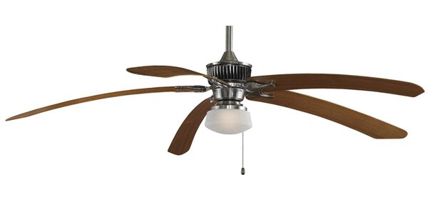 1-Light Schoolhouse Ceiling Fan Light Kit by Fanim