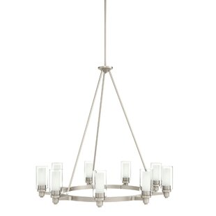 Shop For Circolo 9 Light Candle-Style Chandelier By Kichler
