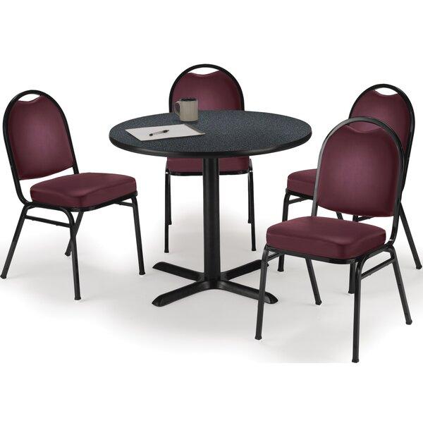 5 Piece Dining Set by KFI Seating