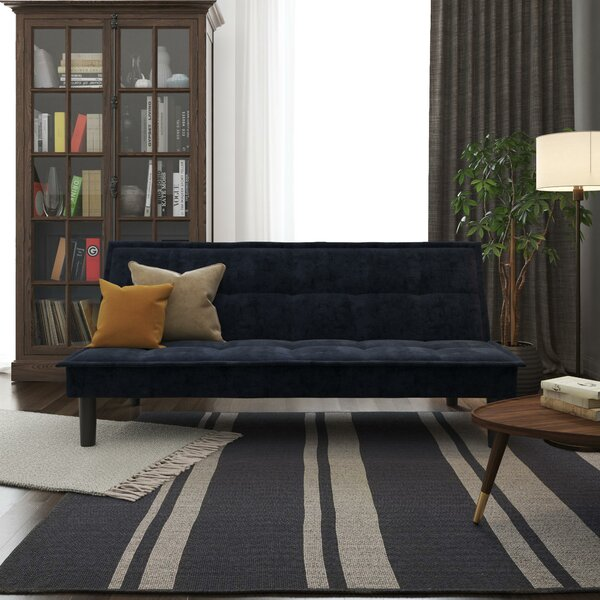 Sherbrooke Memory Foam Convertible Sofa by Latitude Run