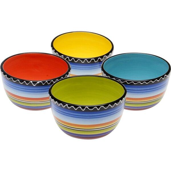 Sunrise Dessert Bowl (Set of 4) by Certified International
