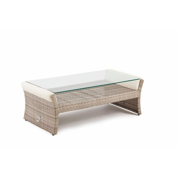 Sheri Glass Coffee Table by Canora Grey