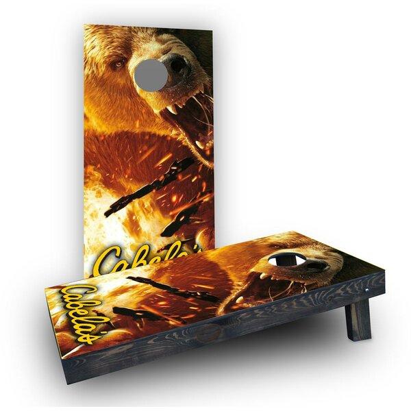 Cabelas Cornhole Boards (Set of 2) by Custom Cornhole Boards