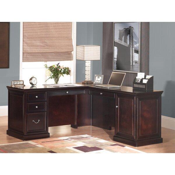 Reynoldsville L-Shape Executive Desk by Darby Home Co