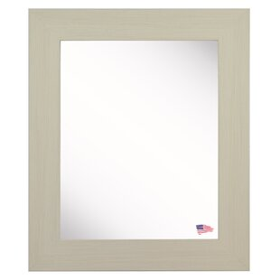 Corrigan Studio Workman Ivory Aluminum Wall Mirror