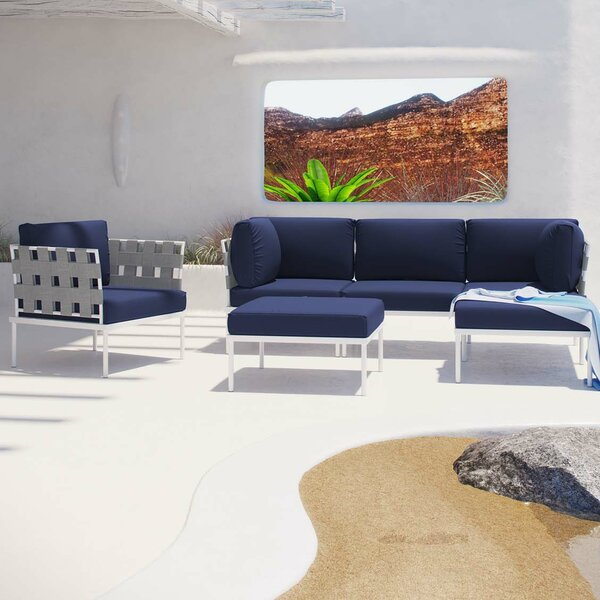 Darnell 6 Piece Sectional Set with Cushions by Brayden Studio