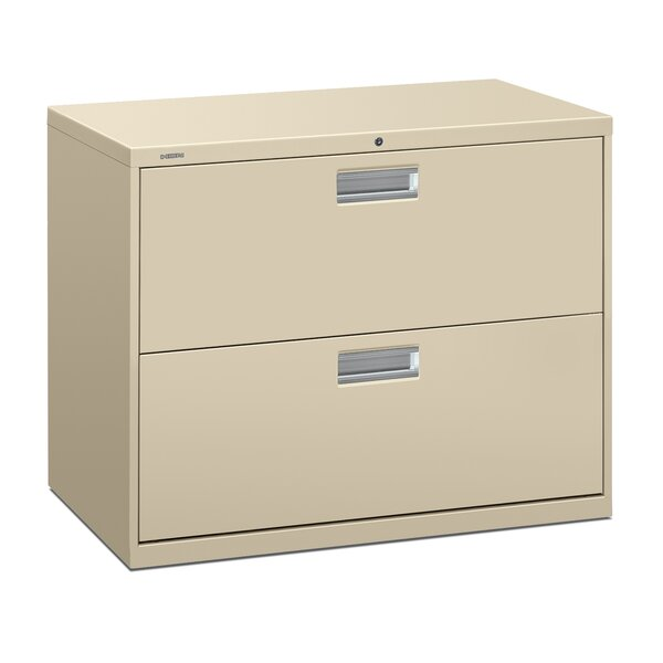Brigade 600 Series 2-Drawer Lateral Filing Cabinet by HON