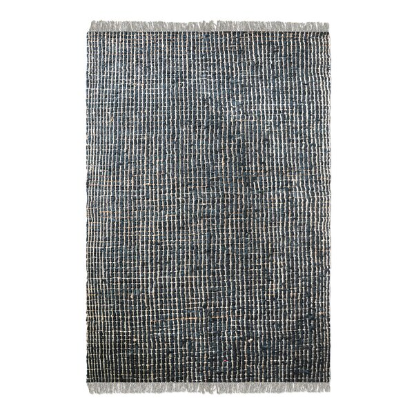Dartmouth Hand-Woven Charcoal Area Rug by Latitude Run