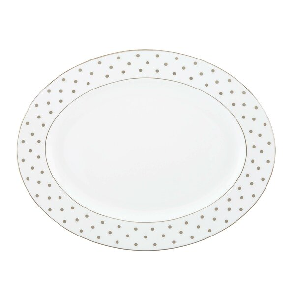 Larabee Road 16 Oval Platter by kate spade new york
