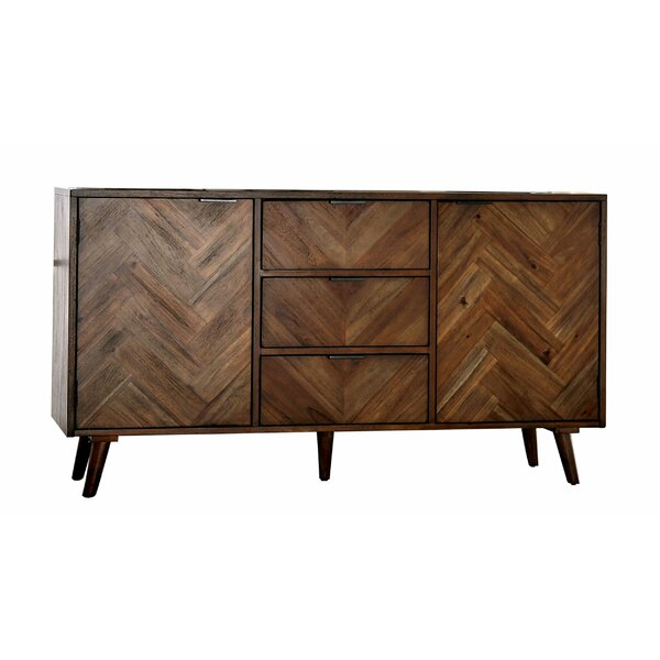 Jettie 60-inch Wide 3 Drawer wood Server by George Oliver George Oliver